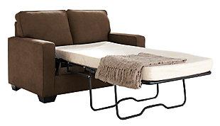 Zeb Twin Sofa Sleeper, Espresso, large