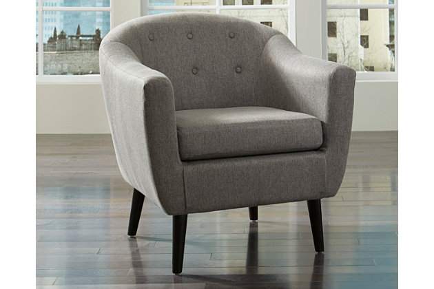 Klorey Chair, Charcoal, large
