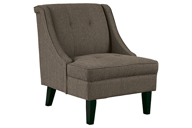 Clarinda Accent Chair by Ashley HomeStore, Gray, Polyester (100 %)