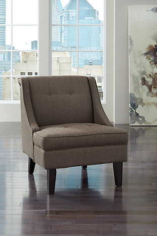 Clarinda Accent Chair, Gray, large