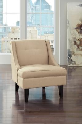 Clarinda Accent Chair, Cream, large