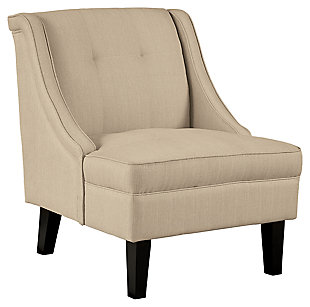 Clarinda Accent Chair, Cream, large