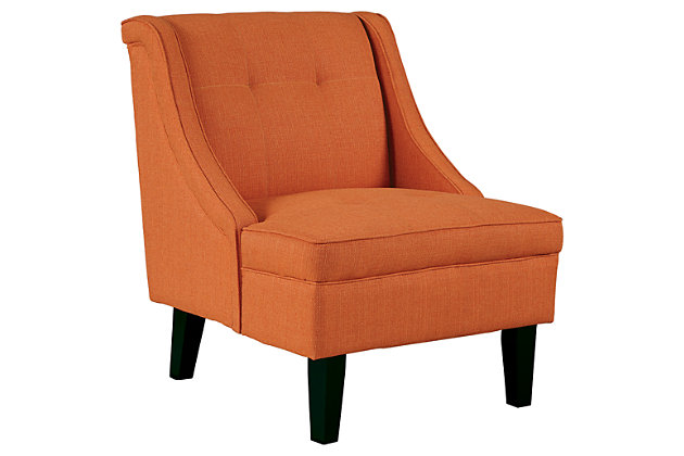Clarinda Accent Chair by Ashley HomeStore, Orange