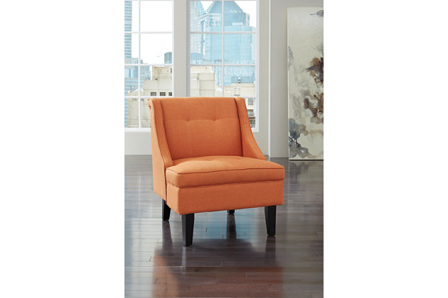 Orange Clarinda Accent Chair by Ashley HomeStore