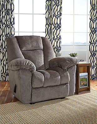 Nimmons Recliner, Taupe, large