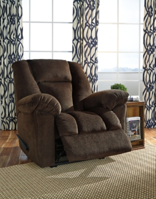 Nimmons Recliner, Chocolate, large