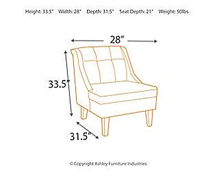Cerdic Accent Chair, , large