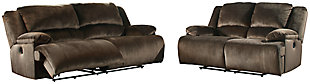 Clonmel Sofa and Loveseat, Chocolate, rollover