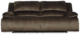 Clonmel Power Reclining Sofa, Chocolate, large