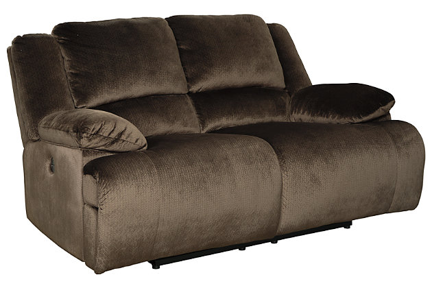 Clonmel Sofa and Loveseat, Chocolate, large