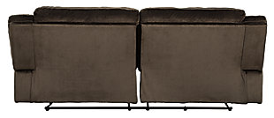 Clonmel Reclining Sofa, Chocolate, large