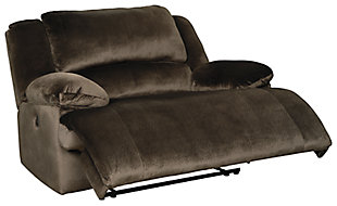 Clonmel Oversized Power Recliner, Chocolate, large