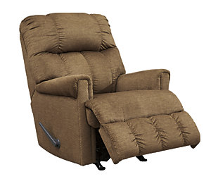 Craggly Recliner, Straw, large