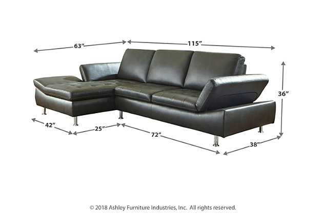 Carrnew 2-Piece Sectional with Chaise, , large