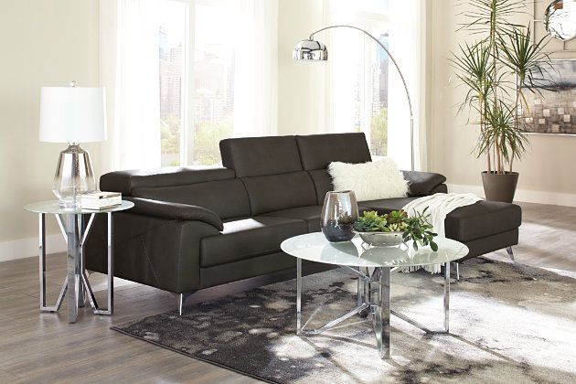 Tindell 2-Piece Sectional with Chaise, Gray, large
