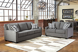 Brace Sofa and Loveseat, , large