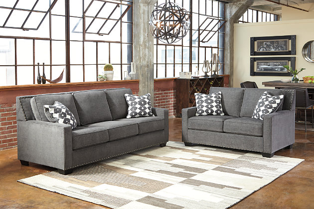 Brace Sofa And Loveseat Ashley Furniture Homestore