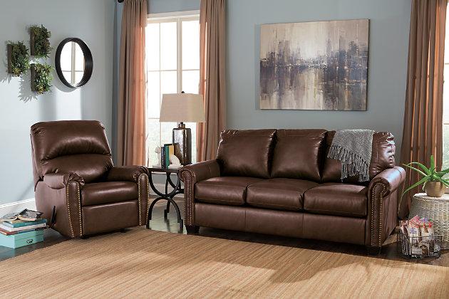 Lottie Durablend 174 Full Sofa Sleeper Ashley Furniture