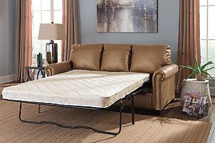Lottie Full Sofa Sleeper, Almond, large