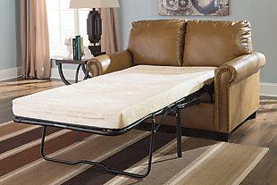 Lottie Twin Sofa Sleeper, Almond, large