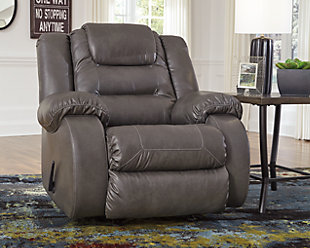 Walgast Recliner, Gray, large
