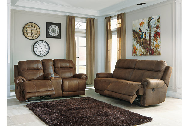 Austere Sofa And Loveseat, , Large ...