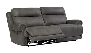 Austere Sofa and Loveseat, Gray, large