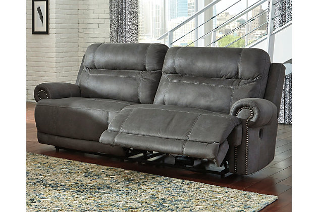 Home; Austere Power Reclining Sofa. Living room decorating idea  sc 1 st  Ashley Furniture HomeStore & Austere Power Reclining Sofa | Ashley Furniture HomeStore islam-shia.org