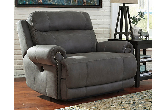 Austere Oversized Power Recliner by Ashley HomeStore, Gra...