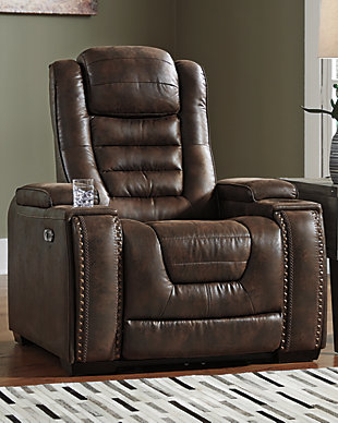 Game Zone Power Recliner, , rollover