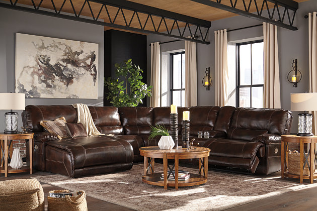 Killamey 6-Piece Sectional with Power, , large