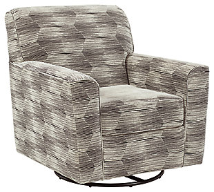 Callisburg Swivel Glider Accent Chair, , large