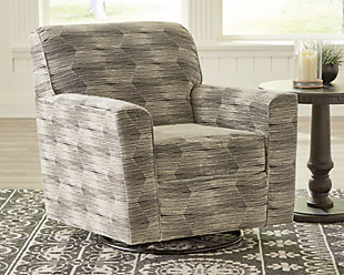 Callisburg Swivel Glider Accent Chair, , rollover