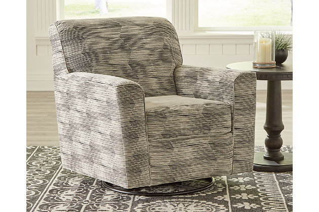 Callisburg Swivel Glider Accent Chair, , large