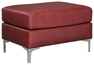 Tensas Ottoman, Crimson, large