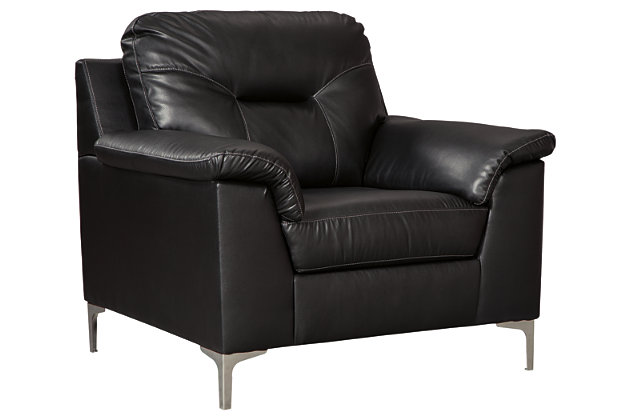 Tensas Chair, Black, large