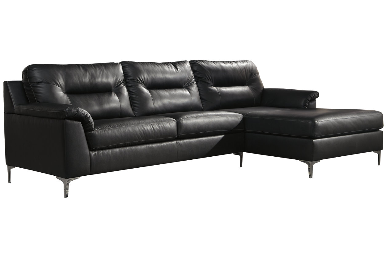 Cool Tensas 2 Piece Sectional With Chaise Ashley Furniture Cjindustries Chair Design For Home Cjindustriesco