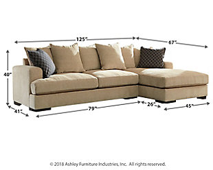 Aquaria 2-Piece Sectional with Chaise, , large