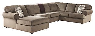 Jessa Place 3-Piece Sectional, Dune, large