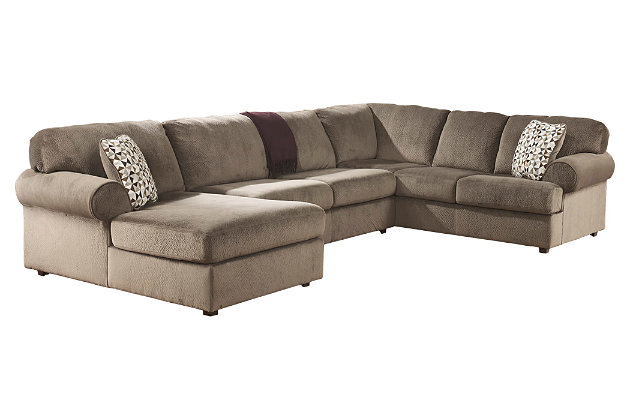 Product shown on a white background  sc 1 st  Ashley Furniture HomeStore : jessa place sectional pewter - Sectionals, Sofas & Couches