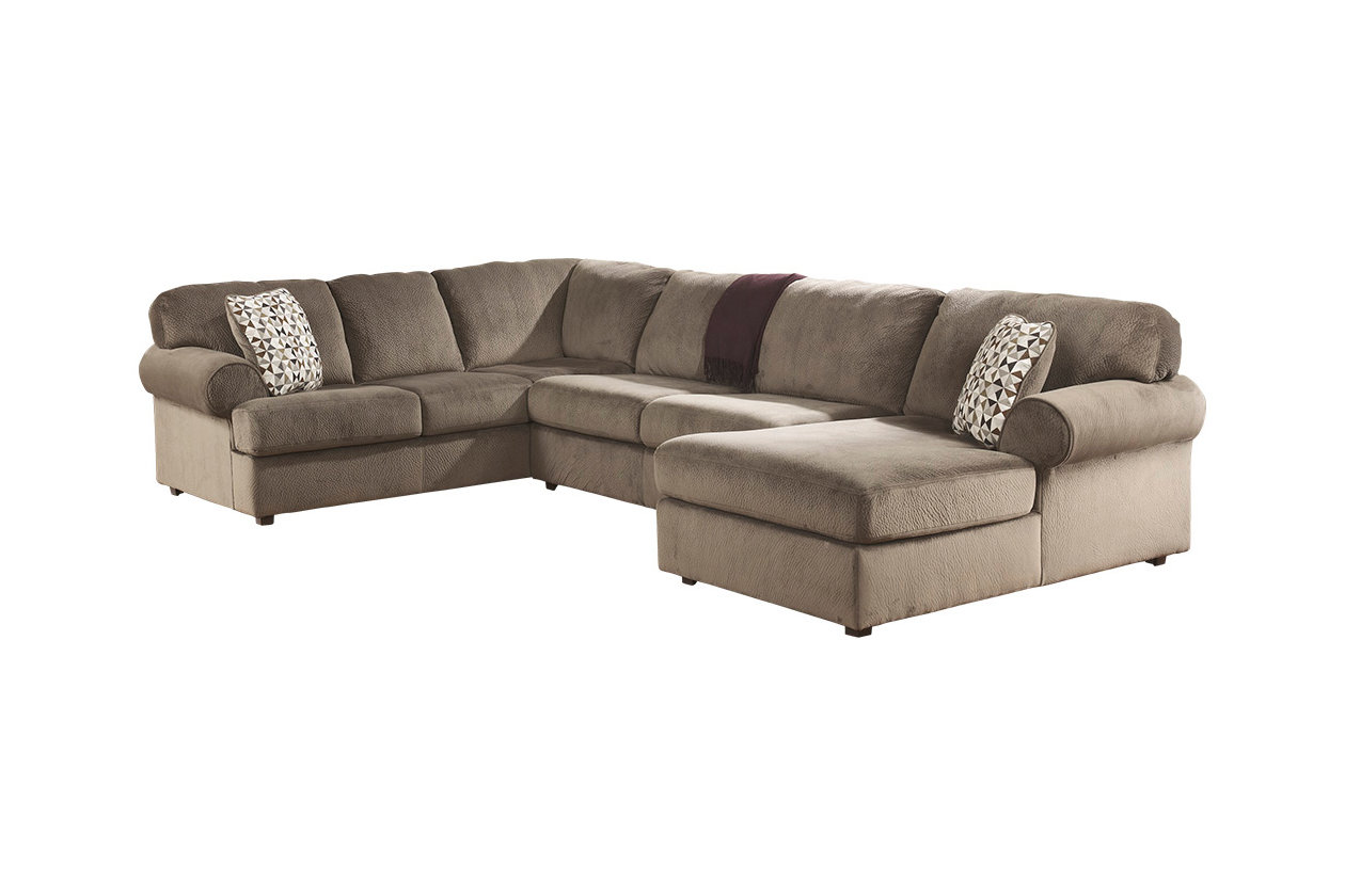 Peachy Jessa Place 3 Piece Sectional With Chaise Ashley Furniture Cjindustries Chair Design For Home Cjindustriesco