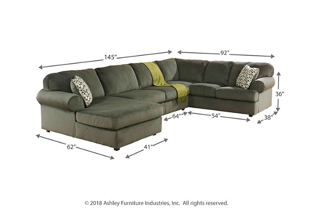 Jessa Place 3-Piece Sectional with Chaise, , large