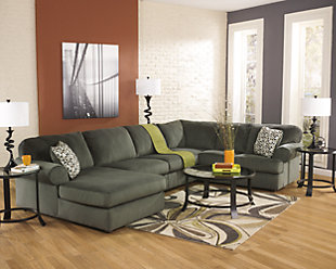 Jessa Place 3-Piece Sectional, Pewter, rollover