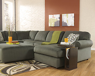 Jessa Place 3-Piece Sectional, Pewter, large
