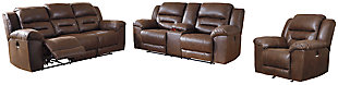 Stoneland Sofa, Loveseat and Recliner, , large