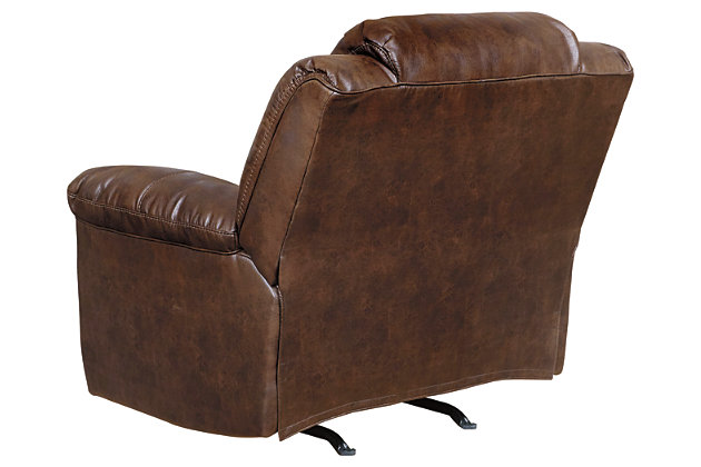 Stoneland Power Recliner, Chocolate, large
