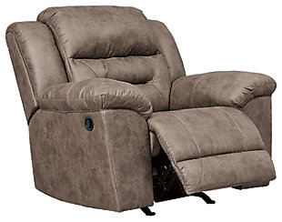 Stoneland Recliner, Fossil, large