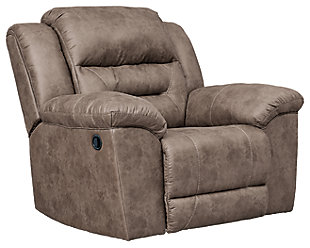 Stoneland Sofa, Loveseat and Recliner, Fossil, large