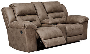 Stoneland Reclining Loveseat with Console, , large