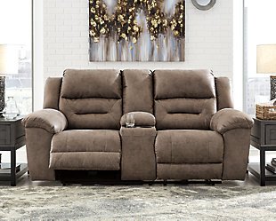 Stoneland Power Reclining Loveseat with Console, , rollover
